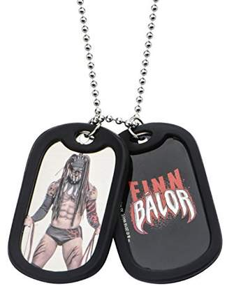 Finn WWE Jewelry Balor Stainless Steel Double Dog Tag Men's Pendant Necklace