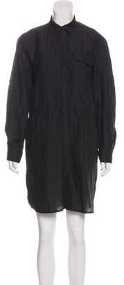 ATM Anthony Thomas Melillo Woven Mini Dress
