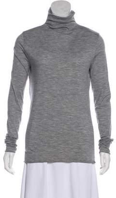 Tory Burch Wool Long Sleeve Turtleneck Top