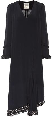 Baum und Pferdgarten Ameli silk-blend dress