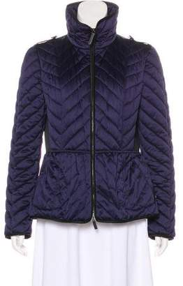 Burberry Quilted Chevron Jacket