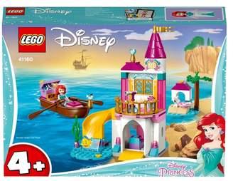 Princess Girls Disney LEGO Ariel's Seaside Castle Disney Toy 41160