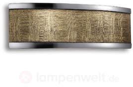 Maren - eine LED-Wandleuchte mit Dekor in Gold