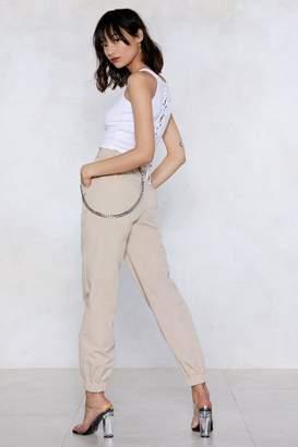 Nasty Gal Holding Precious Cargo Pants