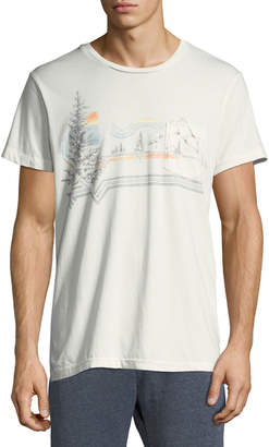 Sol Angeles Men's Riva Glade Printed Cotton Tee