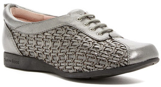 Taryn Rose Trudee Woven Leather Flat $285 thestylecure.com