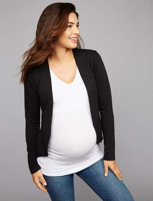 Tart Open Front French Terry Maternity Jacket