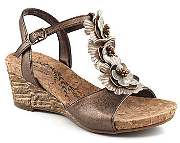 Kenneth Cole Reaction Girls ́ What A Swirl Wedge Sandals