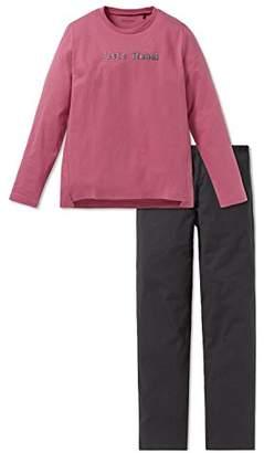 Schiesser Girl's Rebel Mädchen Anzug Lang Pyjama Sets,12 Years