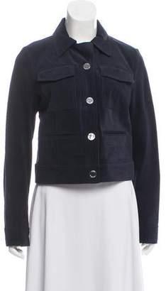 MICHAEL Michael Kors Suede Cropped Jacket