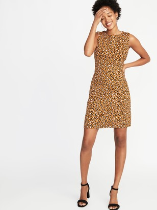 Old Navy Printed Ponte-Knit Sheath Dress for Women
