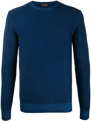 Altea gauge 7 textured knit jumper