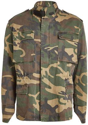 Yeezy Camouflage Printed Cotton Jacket