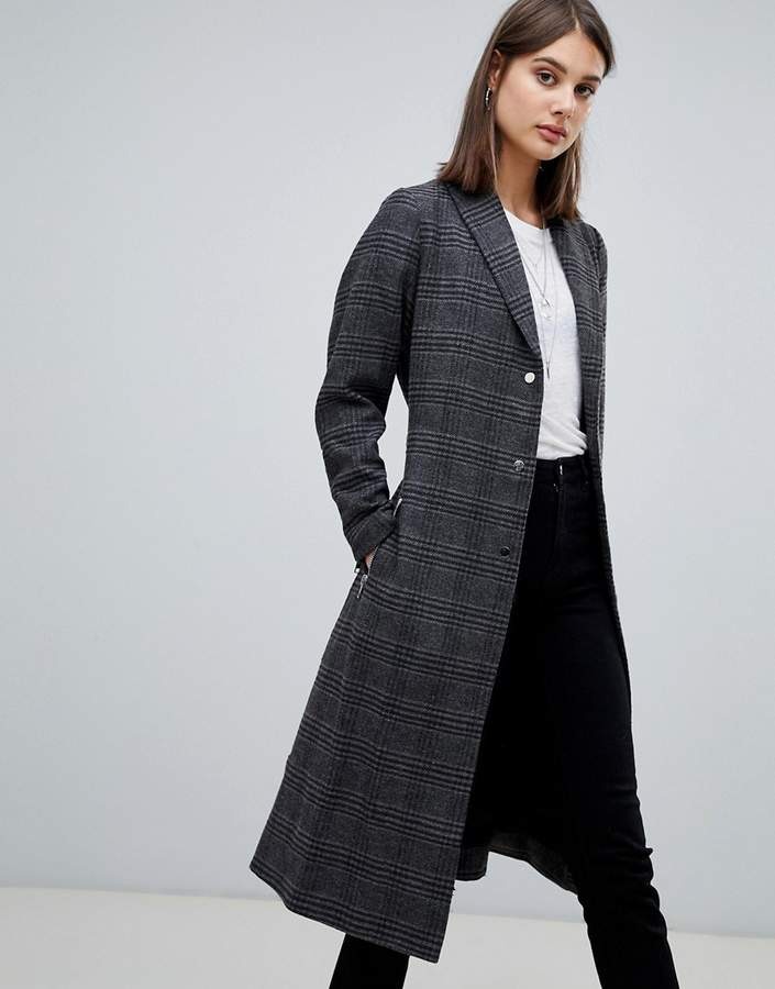 eternal check coat