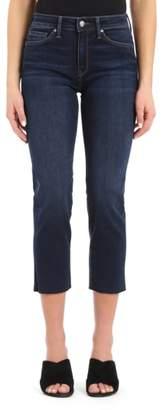 Mavi Jeans Niki Frayed Hem Crop Jeans