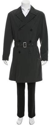 Hermes Double-Breasted Trench Coat