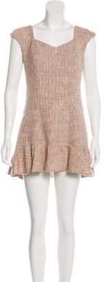 Rebecca Taylor Short Sleeve Tweed Dress w/ Tags