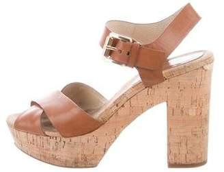 MICHAEL Michael Kors Cork Platform Sandals