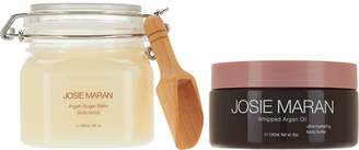 Josie Maran Whipped Argan Body Butter & Sugar Balm Scrub Duo