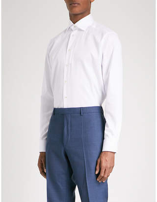 Eton Contemporary-fit cotton-twill shirt