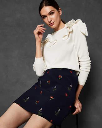 Ted Baker DAFNIE Kirstenbosch mini skirt