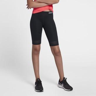 Nike Pro Big Kids' (Girls') Training Half Tights