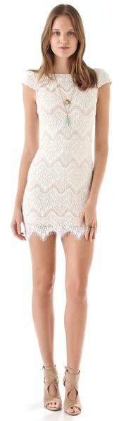 Nicholas Rebecca Chantilly Lace Dress