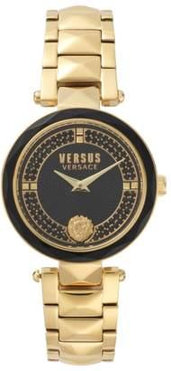 Versace VERSUS VERSUS by Covent Garden Crystal Accent Bracelet Watch, 36mm
