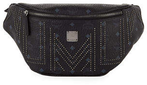 MCM Stark Gunta Medium Studded Belt Bag