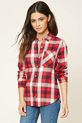 Forever 21 Classic Plaid Shirt