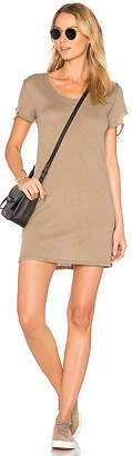 Nation LTD Layla Tee Dress in Taupe $79 thestylecure.com