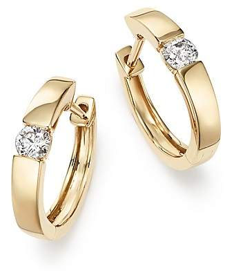 Bloomingdale's Diamond Small Hoop Earrings in 14K Yellow Gold, 0.25 ct. t.w. - 100% Exclusive