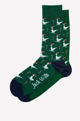 Jack Wills Tritten Single Pheasant Sock