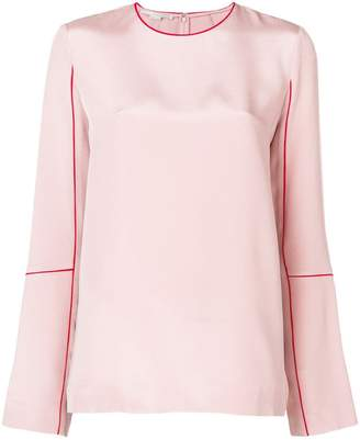 Stella McCartney round neck blouse