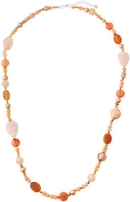 Nakamol Long Mixed-Bead Necklace