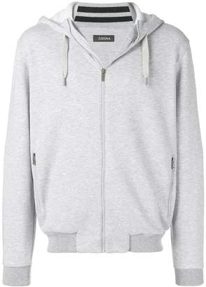 Ermenegildo Zegna zip-up hooded jacket