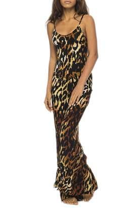Indah Bianca Cheetah Jumpsuit