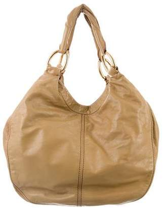 Miu Miu Grained Leather Hobo