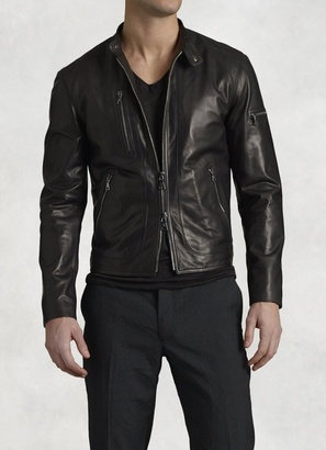Lambskin Leather Jacket $1,698 thestylecure.com