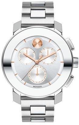 Women's Movado 'Bold Chrono' Bracelet Watch, 38Mm $750 thestylecure.com