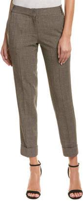 James Jeans Java Plaid Ankle Trouser