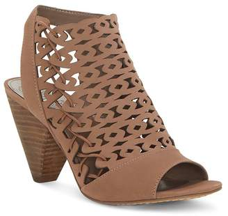 5d3104d4da56 Vince Camuto Women s Emberla Perforated Leather Cone Heel Sandals