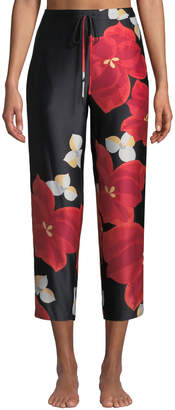 Natori Ginza Floral-Print Lounge Pants