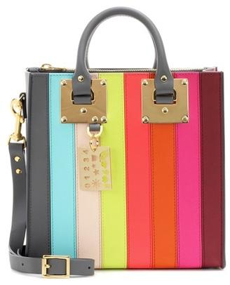 Sophie Hulme Albion Square Rainbow leather shoulder bag