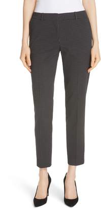 BOSS Tanitea Mini Dot Stretch Wool Suit Trousers