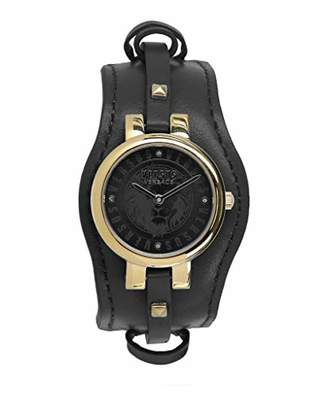Versus By Versace Women's 'Berlin' Quartz Gold-Tone and Leather Fashion Watch