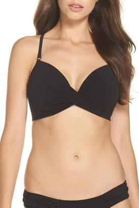 Robin Piccone Ava Underwire D-Cup Bikini Top
