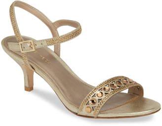 Pelle Moda Ilsa Crystal Embellished Sandal