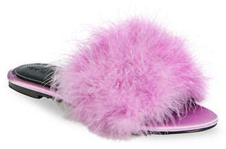 KENDALL + KYLIE Chloe 2 Feather Slides