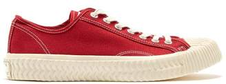 Excelsior Bolt Low Top Canvas Trainers - Mens - Red